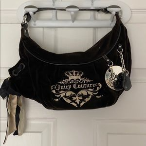 Juicy Couture bag the letters are in gold